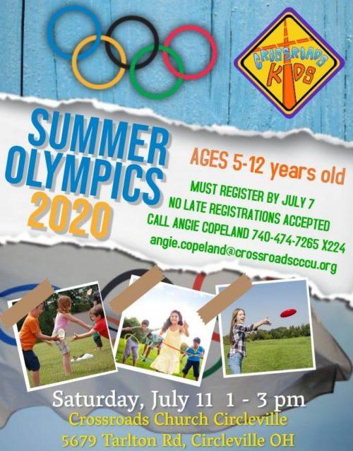 Crossroads Kids Olympics 2020