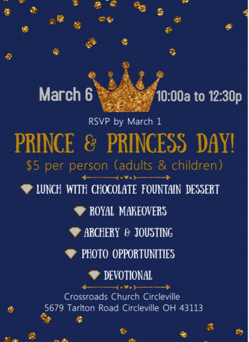 Prince and Princess Day 2021
